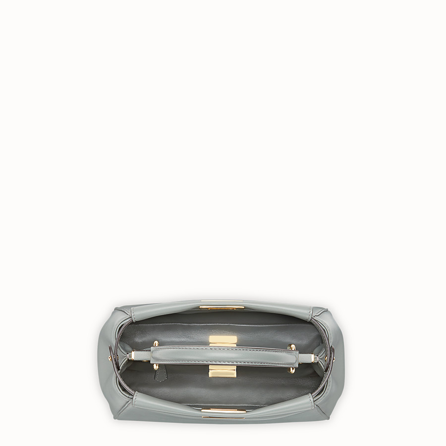 FENDI 미니 피카부 - 그린 컬러의 가죽 백 - view 4 detail