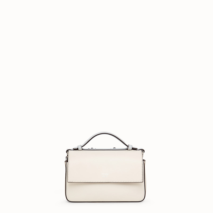 FENDI DOUBLE MICRO BAGUETTE - Minibag in pelle multicolor - vista 3 dettaglio