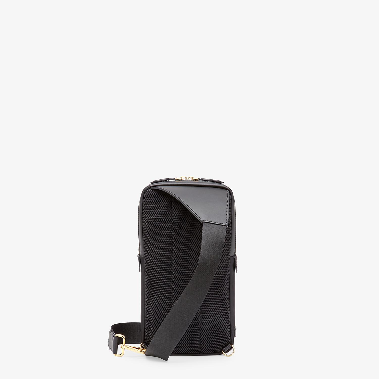 FENDI BELT BAG - Black nylon one-shoulder backpack - view 3 detail