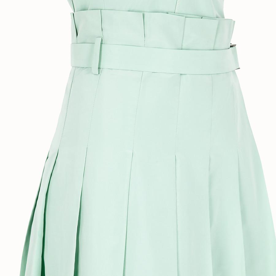 FENDI 洋裝 - 綠色羅緞洋裝 - view 3 detail