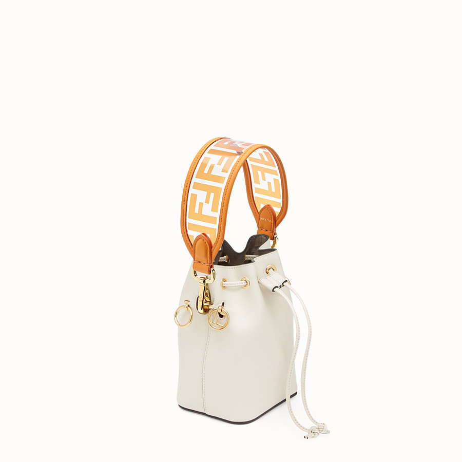 FENDI MINI STRAP YOU - Schulterriemen aus transparentem Gewebe - view 2 detail