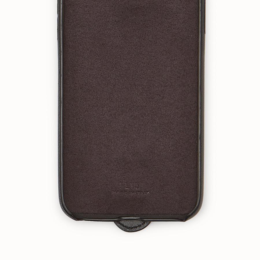 FENDI iPHONE X CASE - Black case - view 2 detail