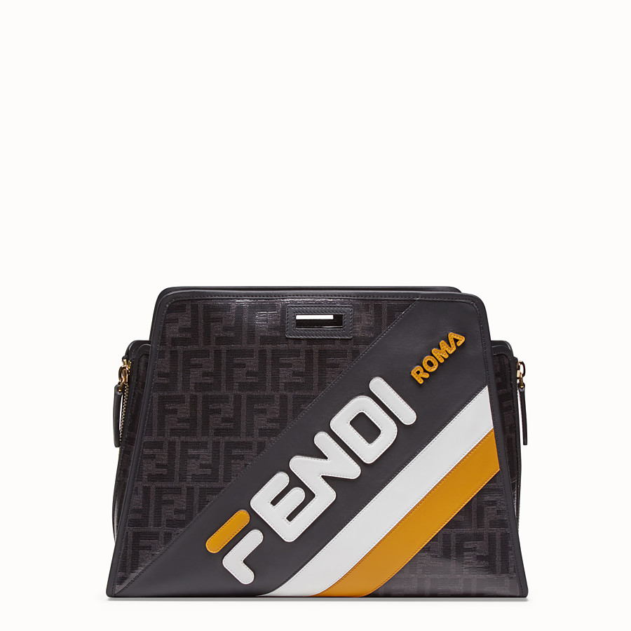 FENDI PEEKABOO DEFENDER - Glazed multicolor fabric cover - view 1 detail