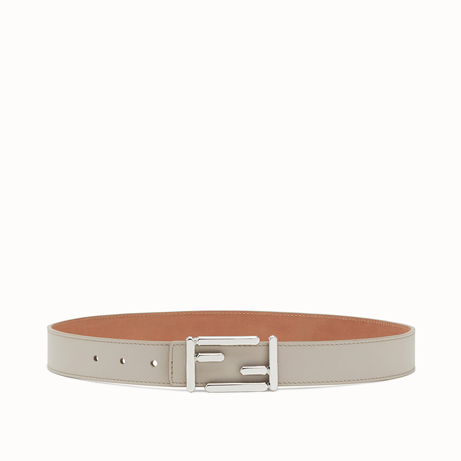 FENDI BAGUETTE BELT - Leather belt with Baguette buckle - view 1 detail