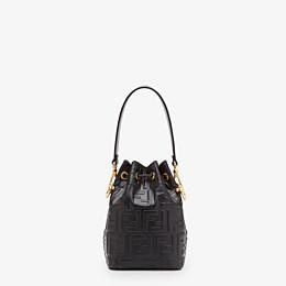 FENDI MON TRESOR - Black leather mini-bag - view 4 thumbnail