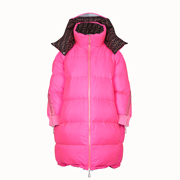 FENDI DOWN JACKET - Fendi Prints On padded down jacket - view 1 small thumbnail