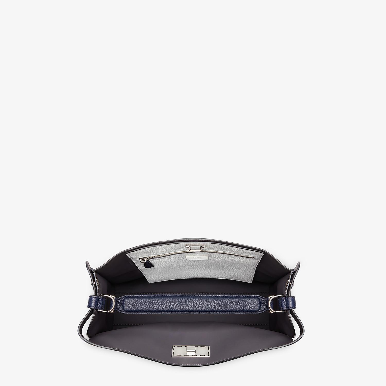 FENDI PEEKABOO X-LITE FIT - Blue Romano leather bag - view 5 detail