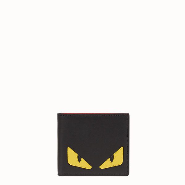 FENDI WALLET - Black leather horizontal wallet - view 1 small thumbnail