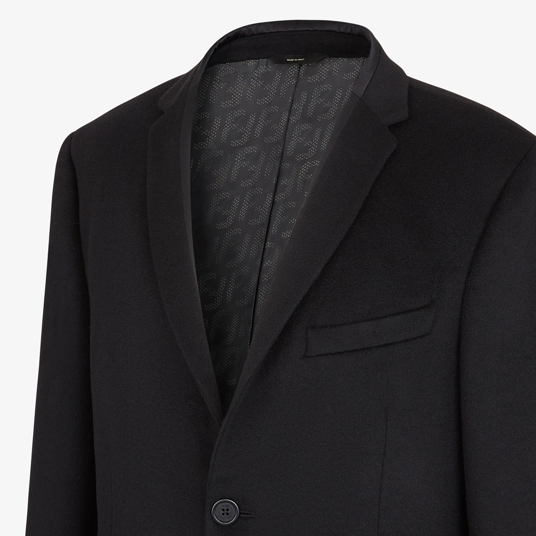 FENDI JACKET - Black cashmere blazer - view 6 detail