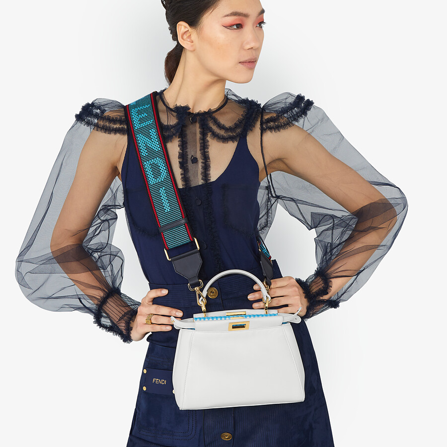 FENDI STRAP YOU - Ribbon shoulder strap - view 2 detail