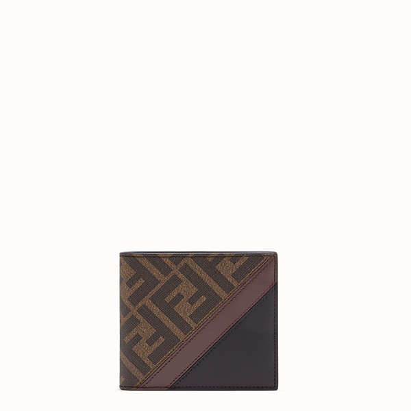 FENDI PORTEMONNAIE - Bifold-Form aus Stoff in Braun - view 1 small thumbnail