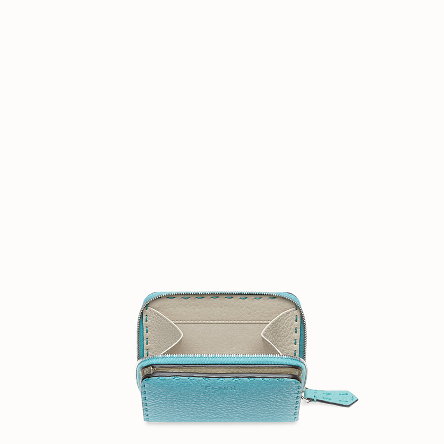 FENDI MEDIUM ZIP-AROUND - Fendi Roma Amor leather wallet - view 3 detail