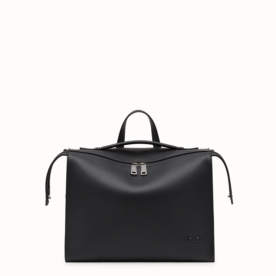 FENDI LUI BAG - Black leather bag - view 1 detail
