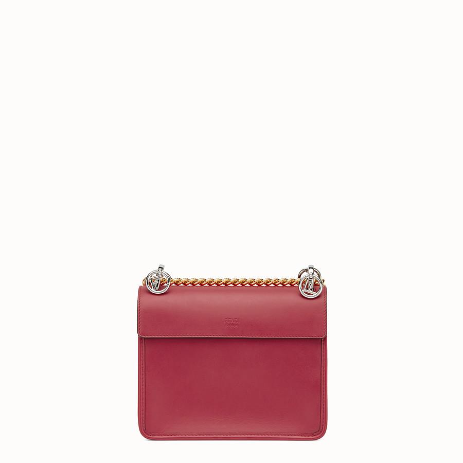 FENDI PETIT KAN I F - Mini-sac en cuir rouge - view 3 detail