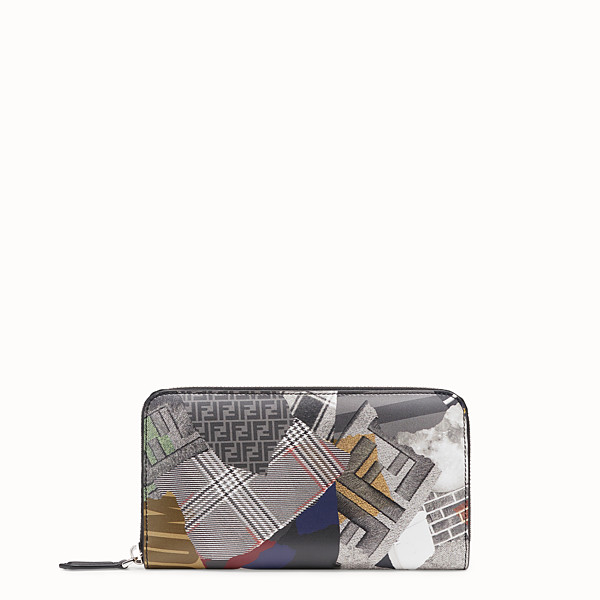 FENDI WALLET - Multicolor leather wallet - view 1 small thumbnail