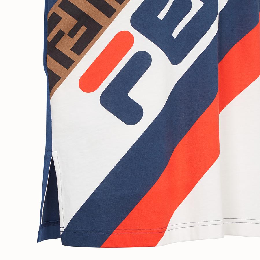 FENDI 티셔츠 - 멀티 컬러의 저지 티셔츠 - view 3 detail