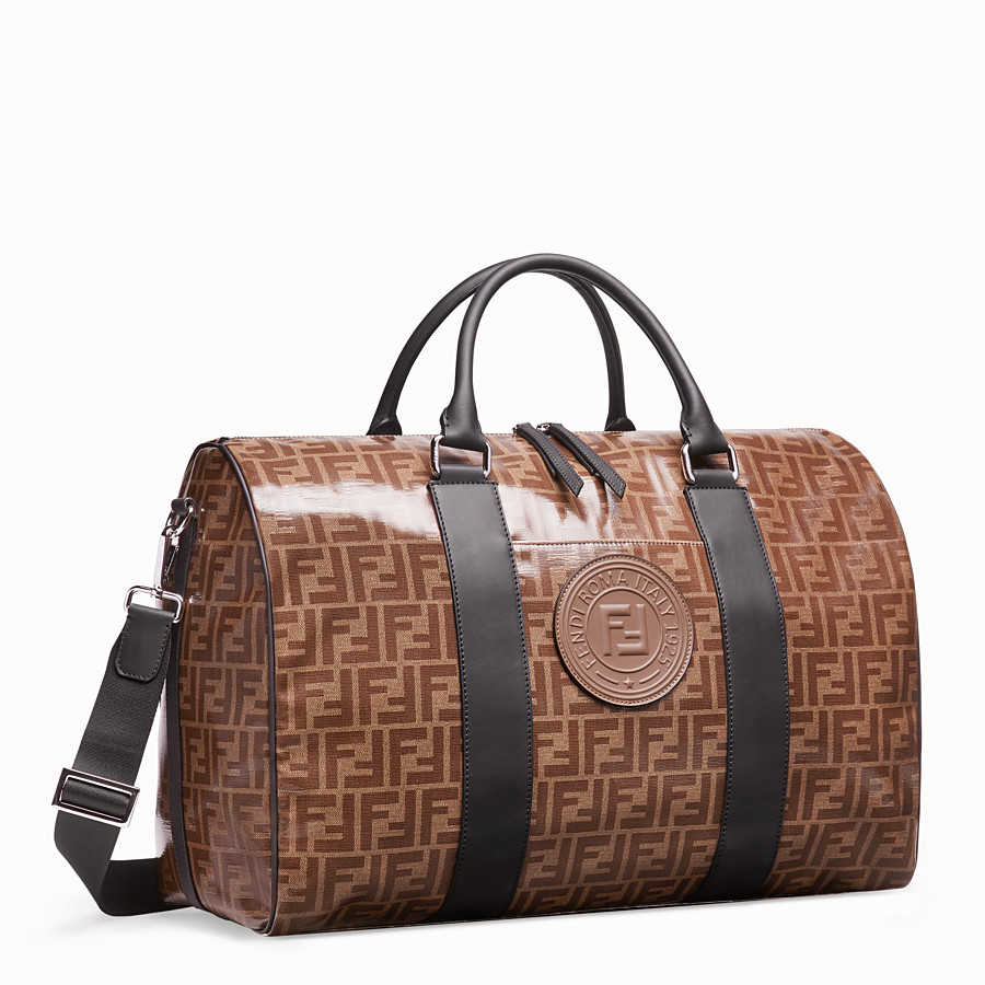 FENDI TRAVEL BAG - Large multicolour fabric bag - view 2 detail