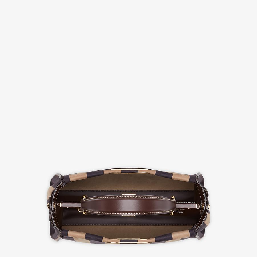 FENDI PEEKABOO ICONIC MEDIUM - Brown nubuck leather bag - view 5 detail