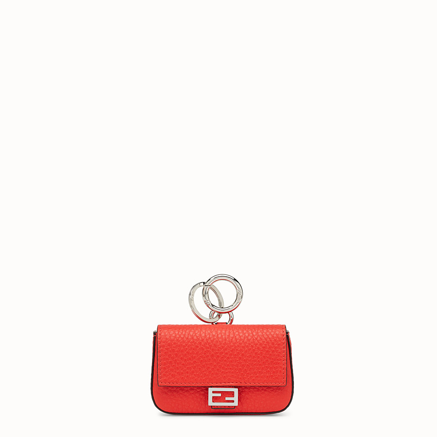 FENDI MICRO BAGUETTE CHARM - Fendi Roma Amor leather charm - view 1 detail