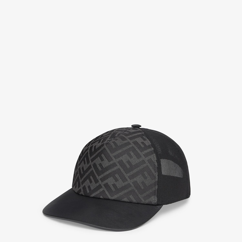 FENDI HAT - Gray fabric baseball cap - view 1 detail