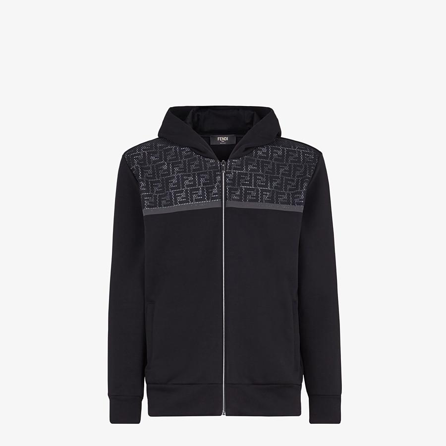 FENDI SWEATSHIRT - Sweatshirt aus Jersey in Schwarz - view 1 detail