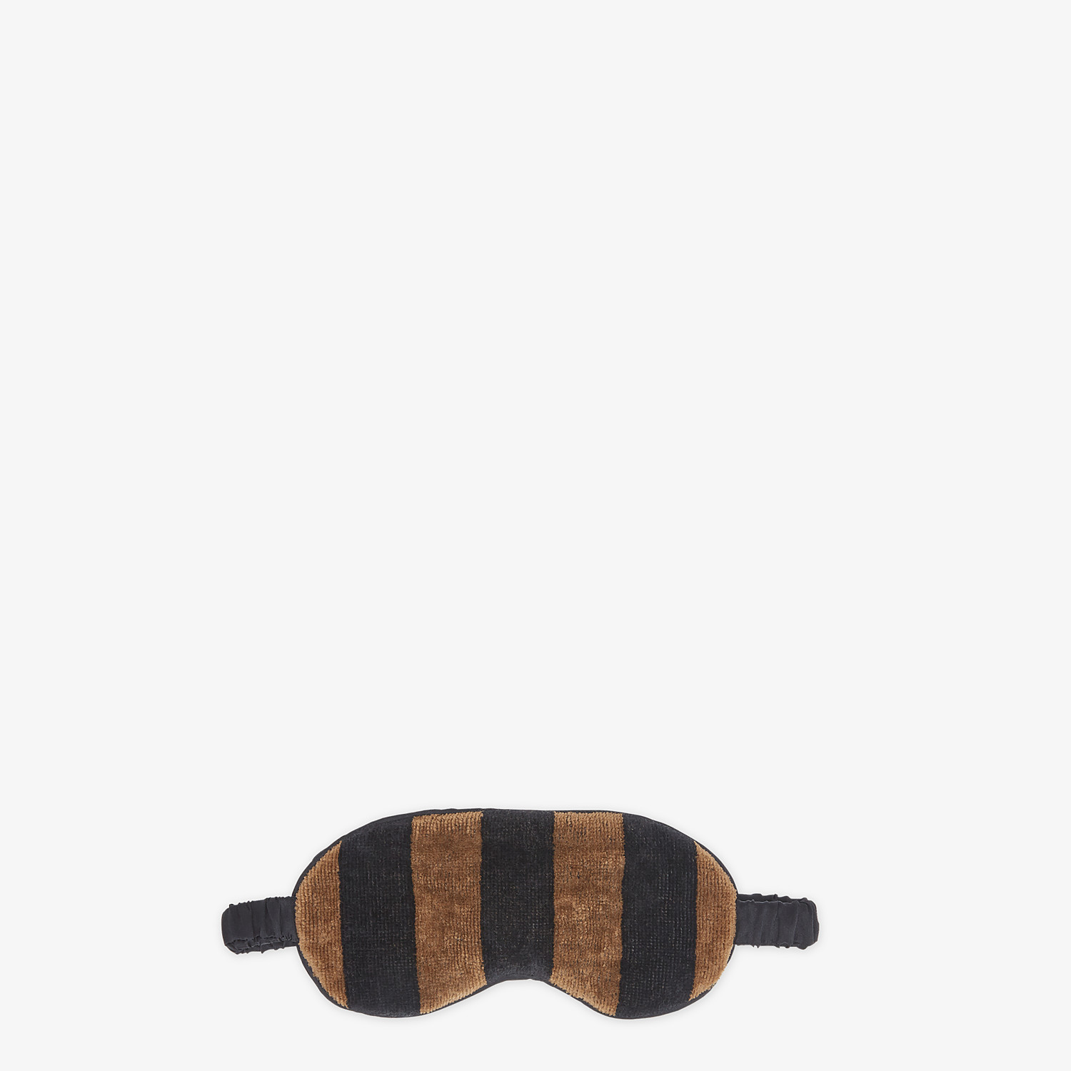 FENDI TRAVEL SET - Brown terry cushion and mask - view 3 detail