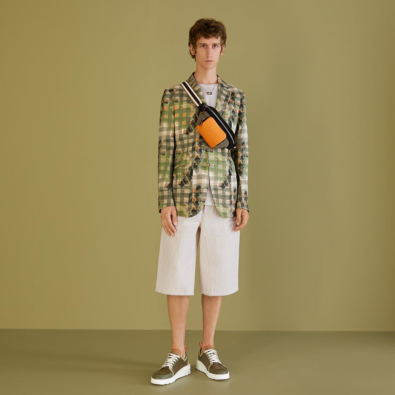 FENDI JACKET - Multicolor silk blazer - view 6 detail