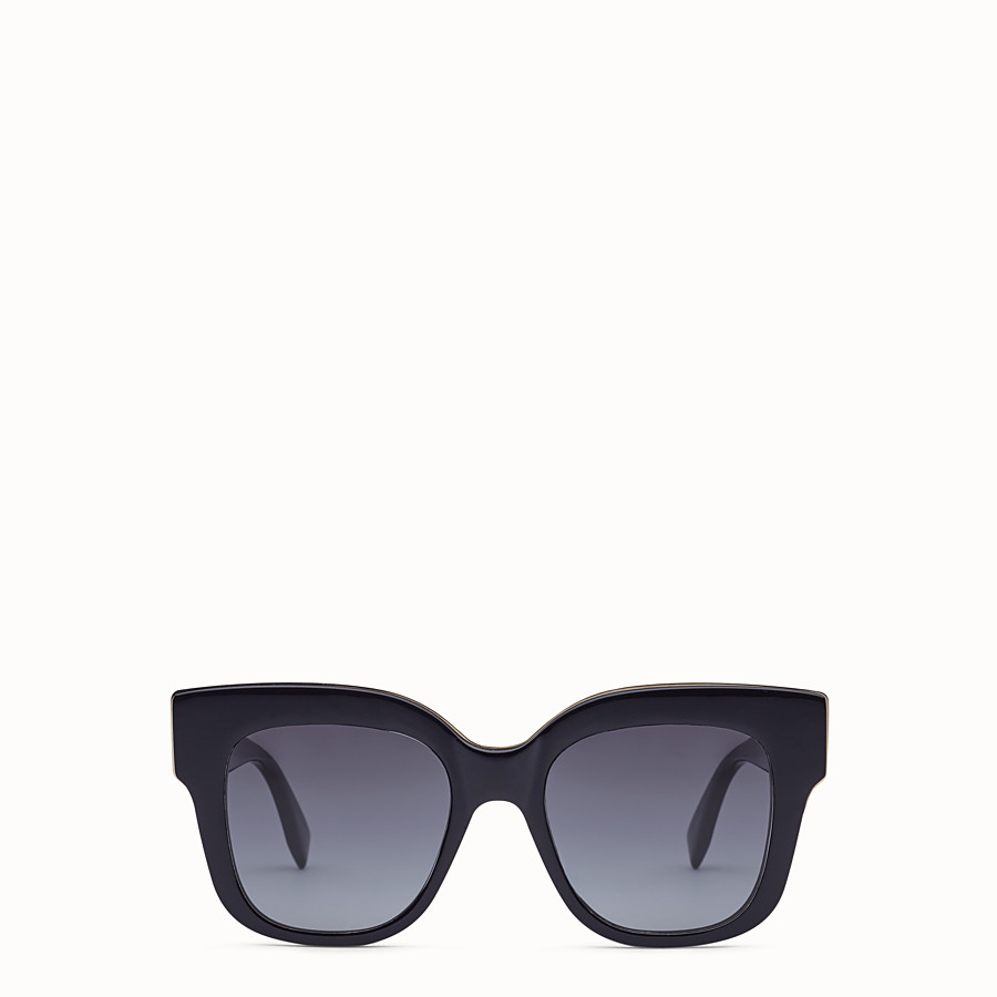 FENDI F IS FENDI - Black sunglasses - view 1 detail