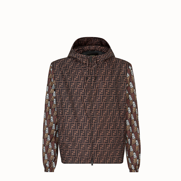 FENDI WINDBREAKER - Fendi Roma Amor fabric windbreaker - view 1 small thumbnail