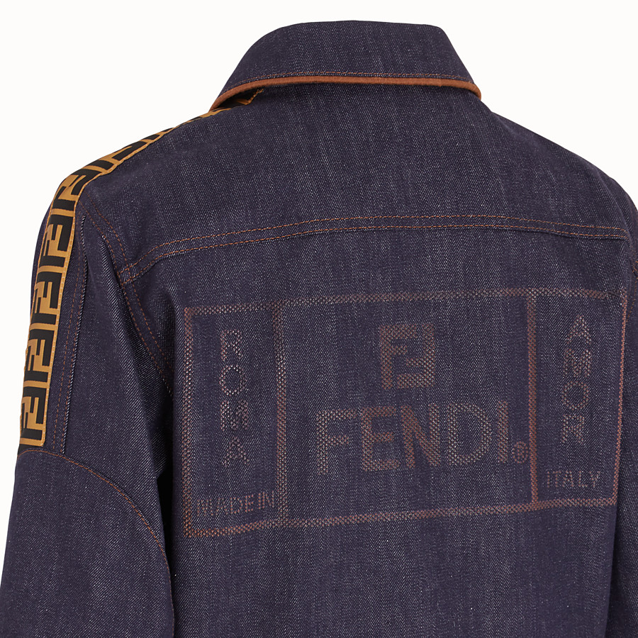 FENDI VESTE - Blouson Fendi Roma Amor en denim - view 3 detail