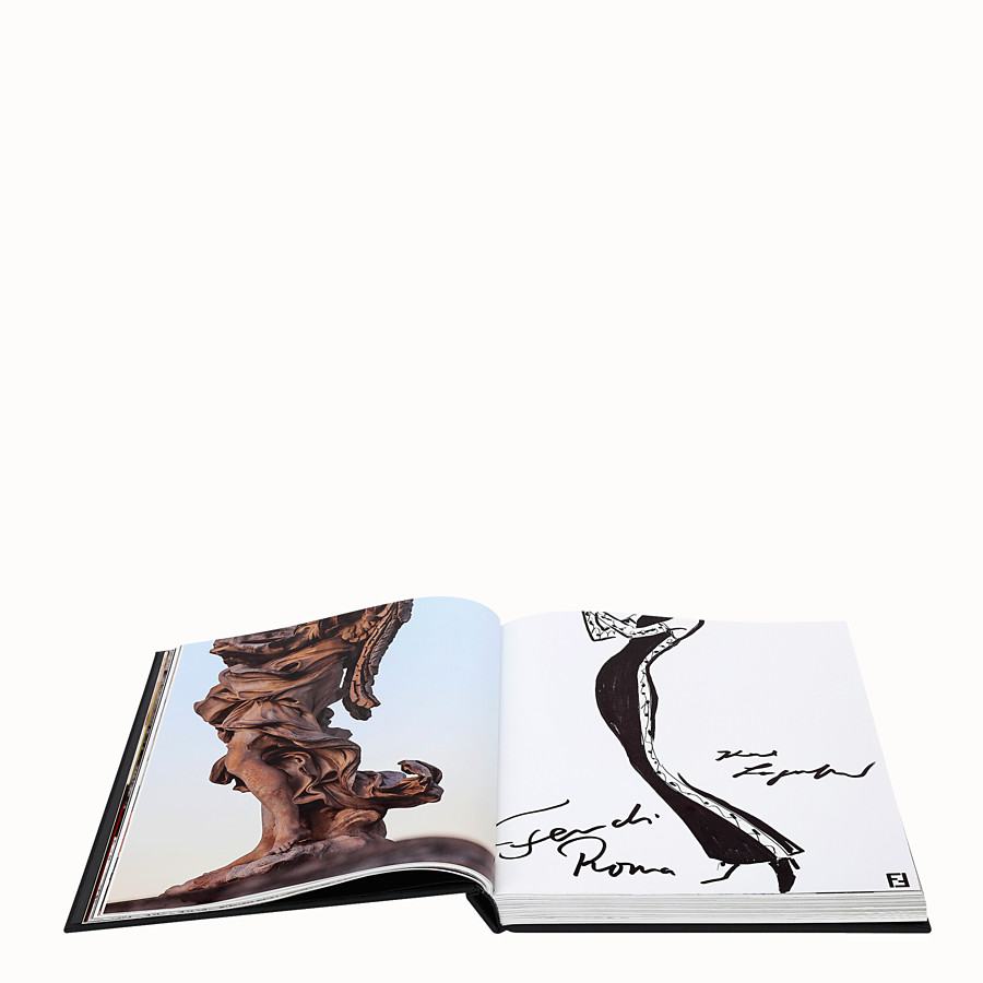FENDI FENDI ROMA - Hardcover book available in English  - view 3 detail