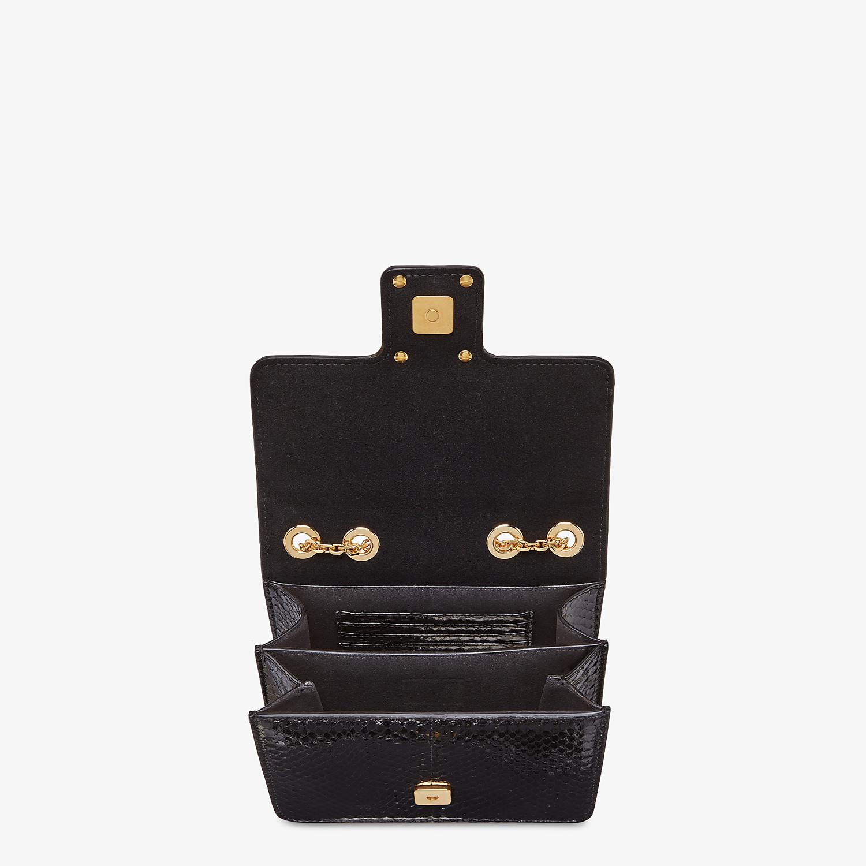 FENDI FENDI FAB - Black elaphe bag - view 4 detail