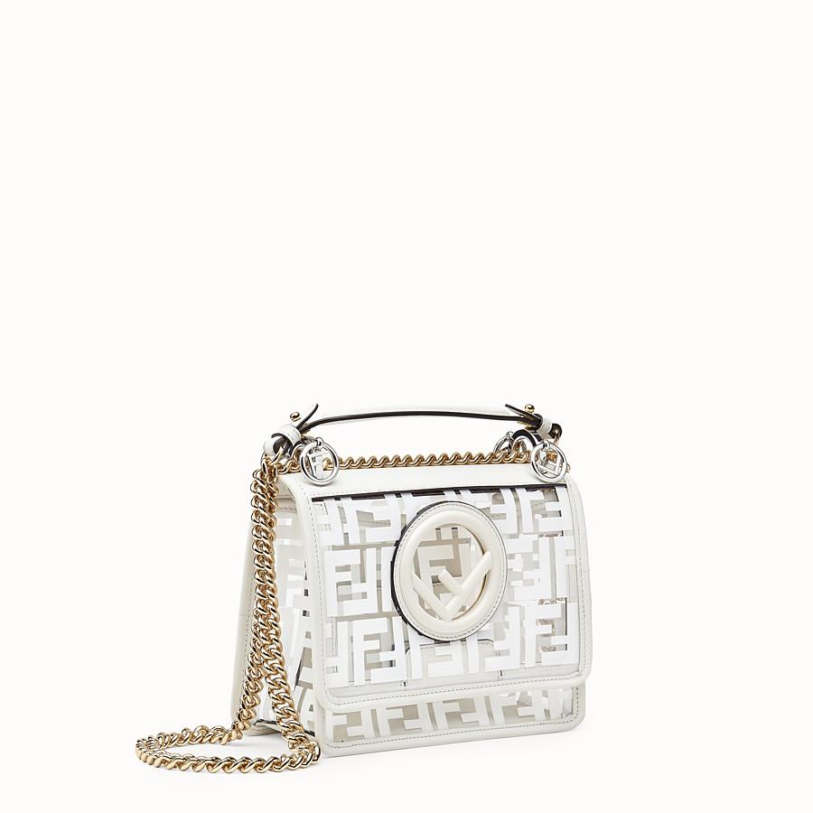 FENDI KAN I F SMALL - Mini sac en PU - view 3 detail