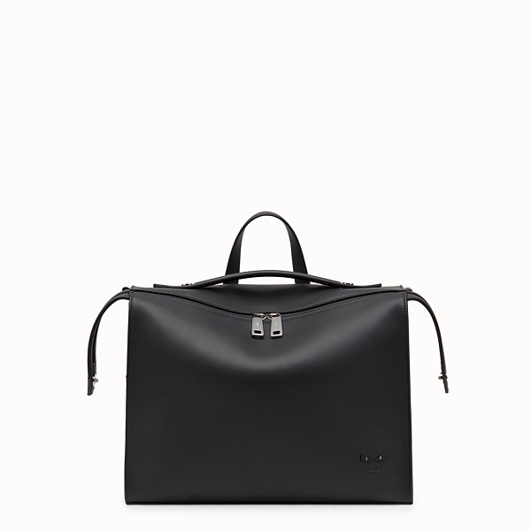 FENDI LUI BAG - Sac en cuir noir - view 1 small thumbnail