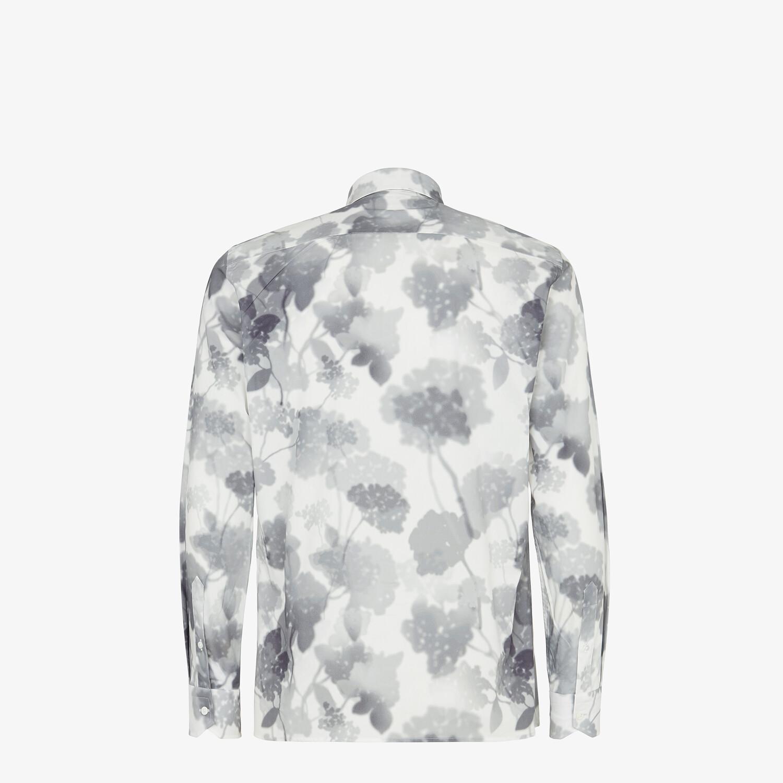 FENDI CAMISA - Camisa de algodón blanco - view 2 detail