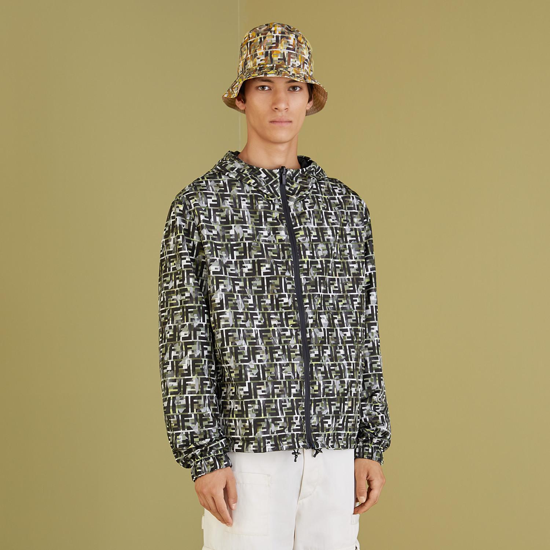 FENDI BLOUSON JACKET - Multicolor nylon jacket - view 5 detail