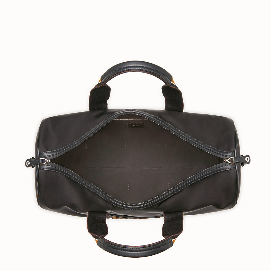 FENDI SATCHEL - Black nylon bag - view 4 detail