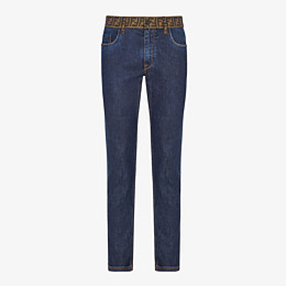 FENDI JEANS - Jeans aus Denim in Blau - view 1 thumbnail