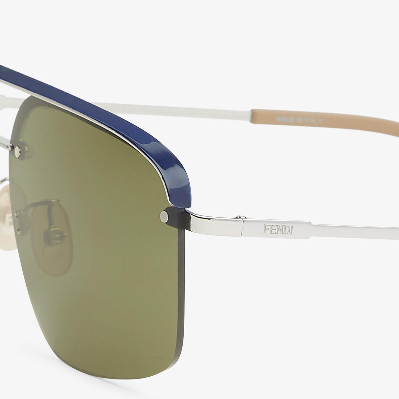 FENDI FENDI PACK - Blue sunglasses - view 3 detail