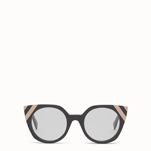 FENDI WAVES - Sunglasses with transparent lenses - view 1 small thumbnail