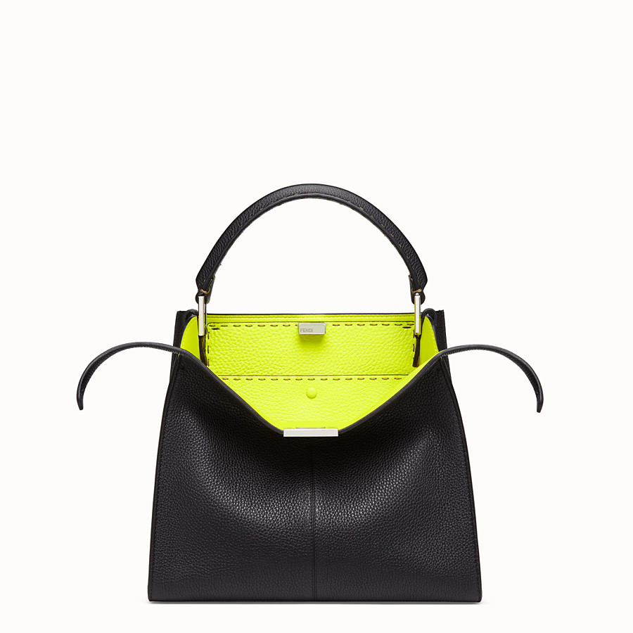 FENDI PEEKABOO X-LITE MEDIUM - Sac Fendi Roma Amor en cuir - view 1 detail