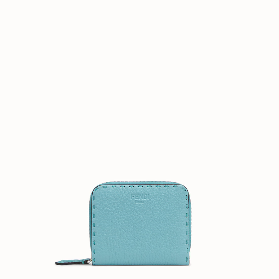 FENDI MEDIUM ZIP-AROUND - Fendi Roma Amor leather wallet - view 1 detail