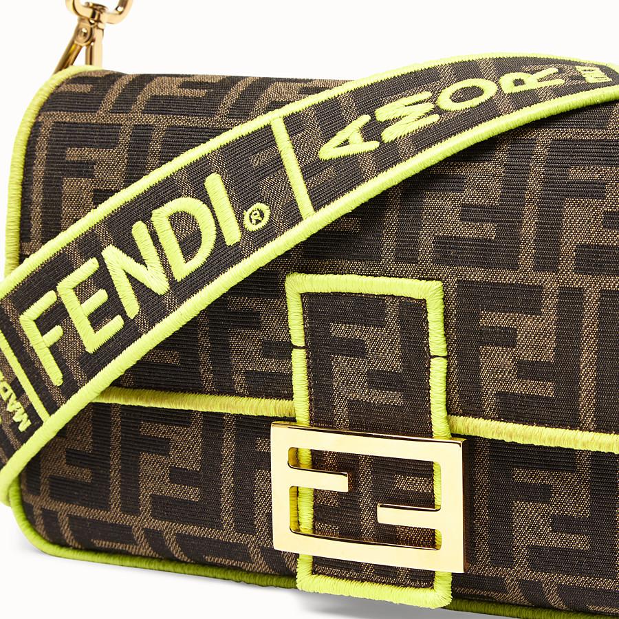 FENDI BAGUETTE - Fendi Roma Amor Tasche aus Stoff - view 5 detail