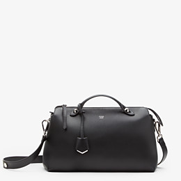 FENDI LARGE BY THE WAY - in black leather - view 1 thumbnail