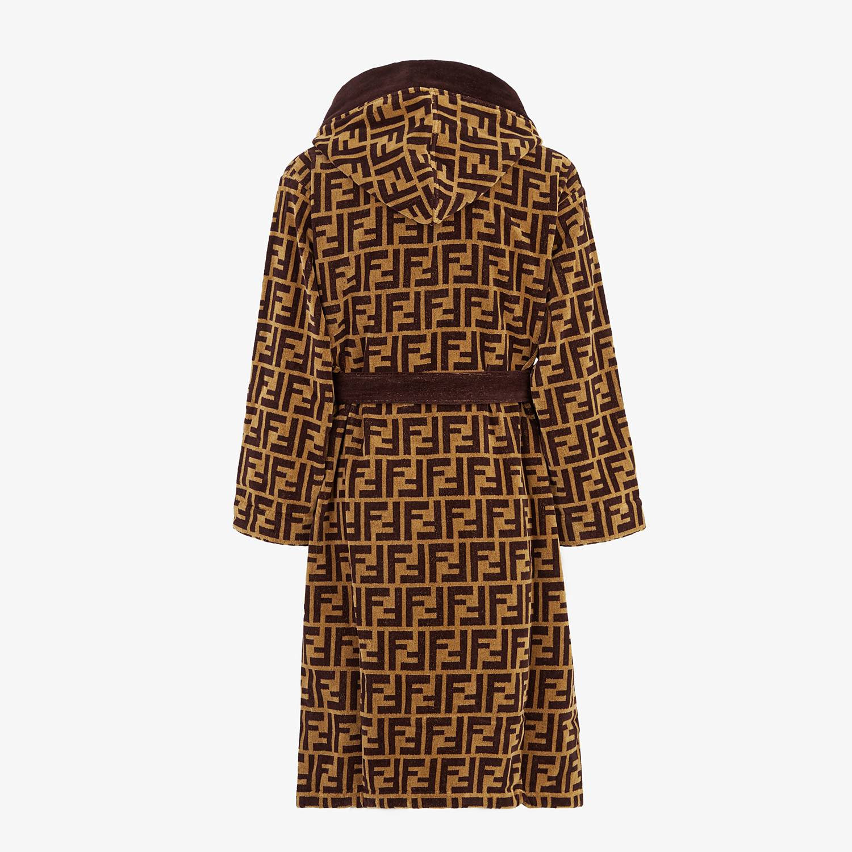 FENDI BATHROBE - Multicolour fabric bathrobe - view 2 detail
