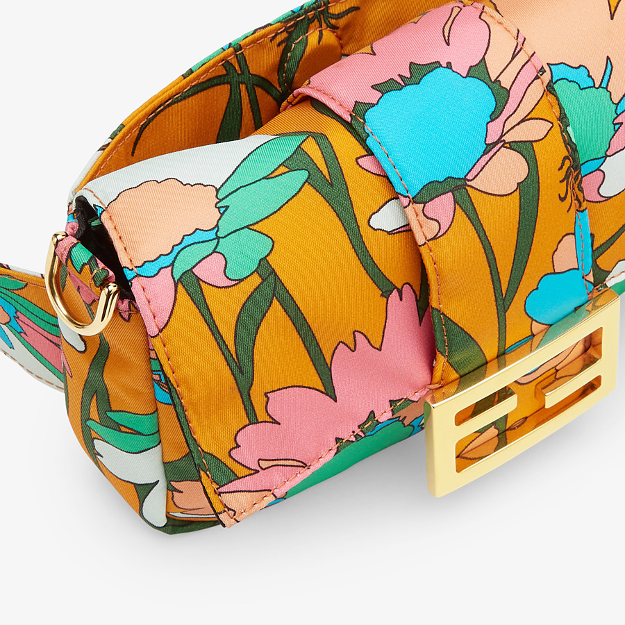 FENDI BAGUETTE - Multicolour nylon bag - view 7 detail