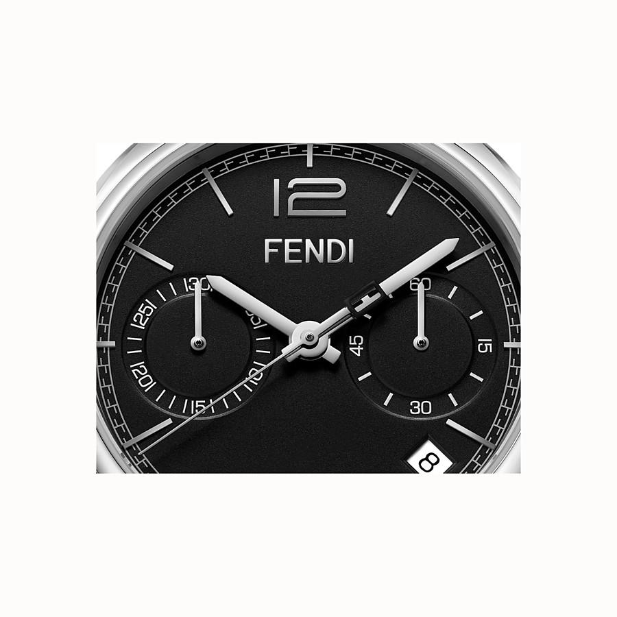 FENDI MOMENTO FENDI - 40 mm - Montre chronographe avec bracelet en acier inoxydable - view 3 detail