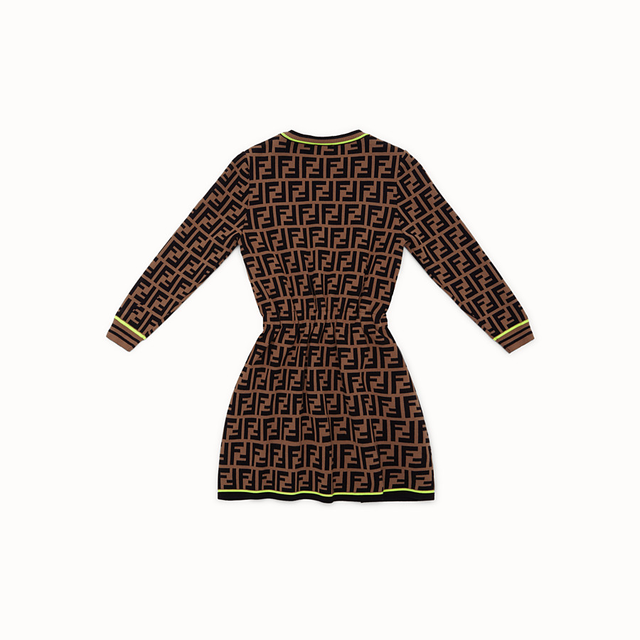 FENDI DRESS - Fendi Roma Amor knit dress - view 2 detail