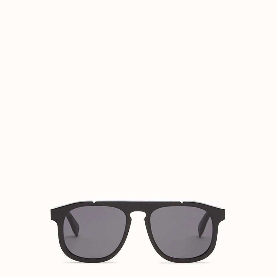 FENDI FENDI ANGLE - Black sunglasses - view 1 detail