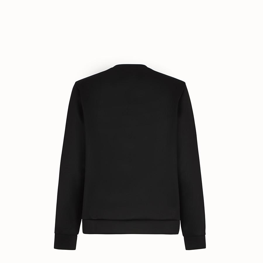 FENDI SWEATSHIRT - Pullover aus Jersey in Weiß - view 2 detail